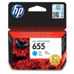 HP - Hp 655-CZ110AE Mavi Orjinal Kartuş