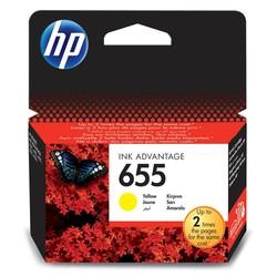 HP - Hp 655-CZ112AE Sarı Orjinal Kartuş
