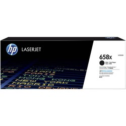 HP - Hp 658X-W2000X Siyah Orjinal Toner Yüksek Kapasiteli