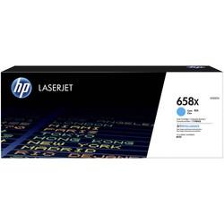 HP - Hp 658X-W2001X Mavi Orjinal Toner Yüksek Kapasiteli
