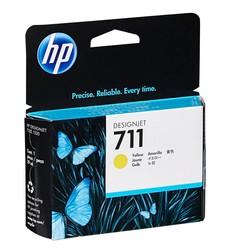 HP - Hp 711-CZ132A Sarı Orjinal Kartuş
