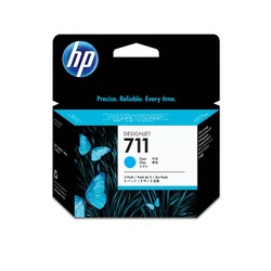 HP - Hp 711-CZ134A Mavi Orjinal Kartuş 3Lü Paket