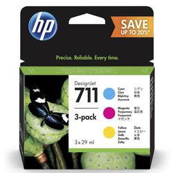 HP - Hp 711-P2V32A Orjinal Kartuş Renkli Avantaj Paketi