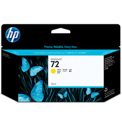HP - Hp 72-C9373A Sarı Orjinal Kartuş Yüksek Kapasiteli