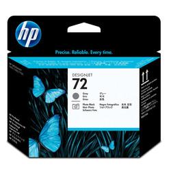 HP - Hp 72-C9380A Orjinal Gri Ve Foto Siyah Baskı Kafası
