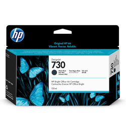 HP - Hp 730-P2V65A Mat Siyah Orjinal Kartuş
