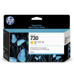 HP - Hp 730-P2V70A Sarı Orjinal Kartuş Yüksek Kapasiteli