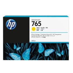 HP - Hp 765-F9J50A Sarı Orjinal Kartuş