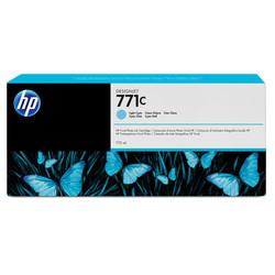 HP - Hp 771c-B6Y12A Açık Mavi Orjinal Kartuş