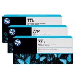 HP - Hp 771c-B6Y37A Foto Siyah Orjinal Kartuş 3Lü Paket