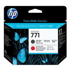 HP - Hp 771-CE017A Orjinal Mat Siyah & Kromatik Kırmızı Baskı Kafası