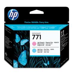 HP - Hp 771-CE019A Orjinal Açık Mavi & Açık Kırmızı Baskı Kafası