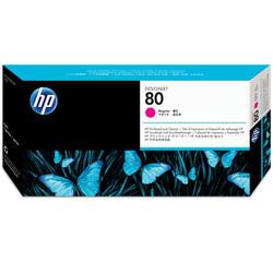 HP - Hp 80-C4822A Orjinal Kırmızı Baskı Kafası ve Kafa Temizleyici