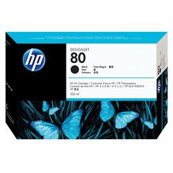 HP - Hp 80-C4871A Siyah Orjinal Kartuş
