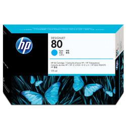 HP - Hp 80-C4872A Mavi Orjinal Kartuş