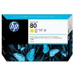 HP - Hp 80-C4873A Sarı Orjinal Kartuş