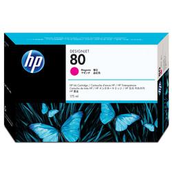 HP - Hp 80-C4874A Kırmızı Orjinal Kartuş