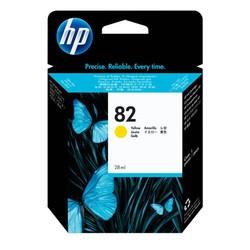 HP - Hp 82-CH568A Sarı Orjinal Kartuş