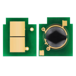 HP - Hp 824A-CB381A Mavi Toner Chip