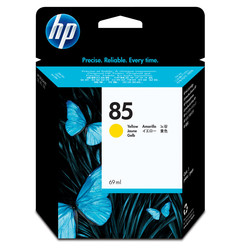HP - Hp 85-C9427A Sarı Orjinal Kartuş
