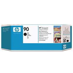 HP - Hp 90-C5054A Orjinal Siyah Baskı Kafası ve Kafa Temizleyici