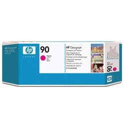 HP - Hp 90-C5056A Orjinal Kırmızı Baskı Kafası ve Kafa Temizleyici