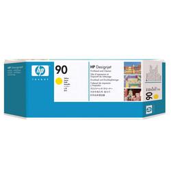 HP - Hp 90-C5057A Orjinal Sarı Baskı Kafası ve Kafa Temizleyici