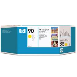 HP - Hp 90-C5065A Sarı Orjinal Kartuş Yüksek Kapasiteli