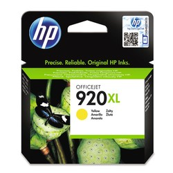 HP - Hp 920XL-CD974A Sarı Orjinal Kartuş