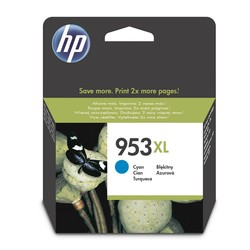 HP - Hp 953XL-F6U16AE Mavi Orjinal Kartuş Yüksek Kapasiteli
