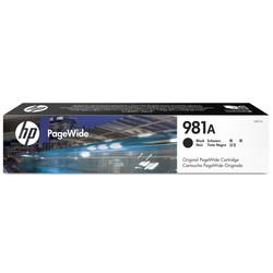 HP - Hp 981A-J3M71A Siyah Orjinal Kartuş