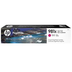 HP - Hp 981X-L0R10A Kırmızı Orjinal Kartuş Yüksek Kapasiteli