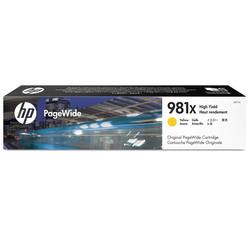 HP - Hp 981X-L0R11A Sarı Orjinal Kartuş Yüksek Kapasiteli