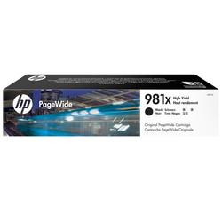 HP - Hp 981X-L0R12A Siyah Orjinal Kartuş Yüksek Kapasiteli