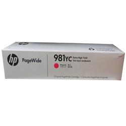 HP - Hp 981YC-L0R18YC Kırmızı Orjinal Kartuş Extra Yüksek Kapasiteli