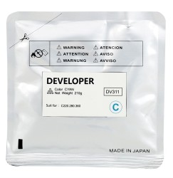 Konica Minolta - Konica Minolta DV-311 Mavi Muadil Developer