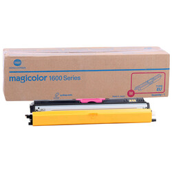 Konica Minolta MagiColor 1600W/A0V30CH Kırmızı Orjinal Toner Yüksek Kapasiteli - Thumbnail