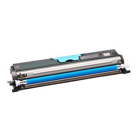 Konica Minolta MagiColor 1600W/A0V30HH Mavi Muadil Toner Yüksek Kapasiteli