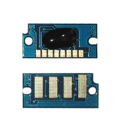 Konica Minolta MagiColor 1600W/A0V30HH Mavi Toner Chip Yüksek Kapasiteli - Thumbnail
