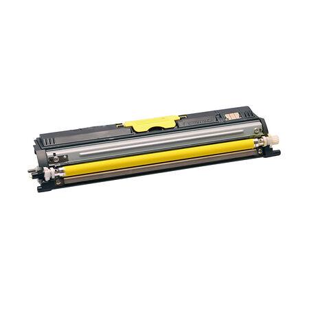Konica Minolta MagiColor 1600W/A0V306H Sarı Muadil Toner Yüksek Kapasiteli