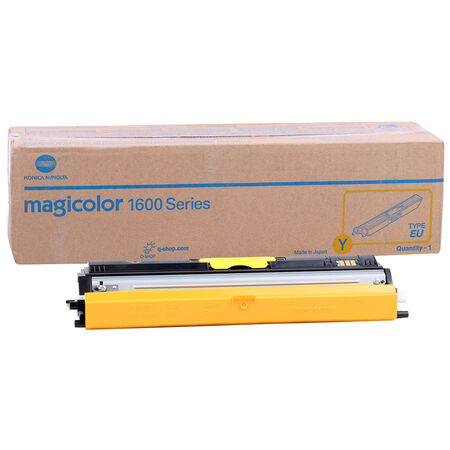Konica Minolta MagiColor 1600W/A0V305H Sarı Orjinal Toner