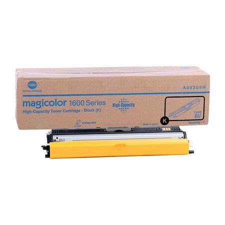 Konica Minolta MagiColor 1600W/A0V301H Siyah Orjinal Toner