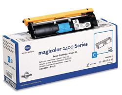 Konica Minolta - Konica Minolta MagiColor 2400W Mavi Orjinal Toner Yüksek Kapasiteli