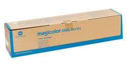 Konica Minolta - Konica Minolta Magicolor 8650 Mavi Orjinal Toner