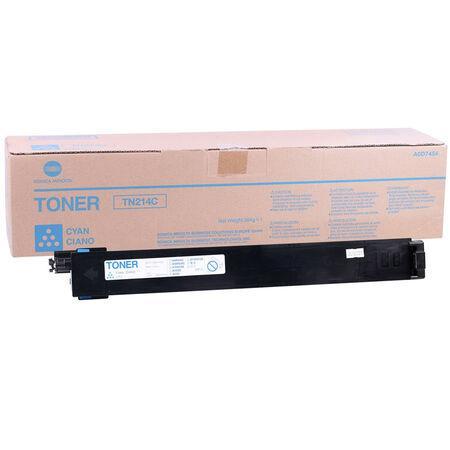 Konica Minolta TN-214/A0D7454 Mavi Orjinal Fotokopi Toner