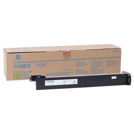 Konica Minolta TN-314/A0D7251 Sarı Orjinal Fotokopi Toner