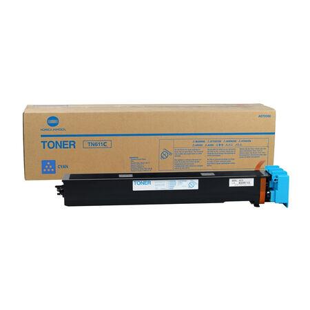 Konica Minolta TN-611/A070450 Mavi Orjinal Fotokopi Toner