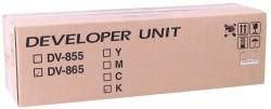 Kyocera - Kyocera DV-865 Siyah Orjinal Developer Ünitesi
