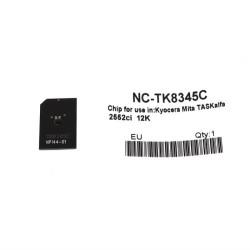Kyocera - Kyocera TK-8345 Mavi Toner Chip