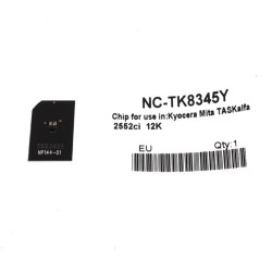 Kyocera - Kyocera TK-8345 Sarı Toner Chip